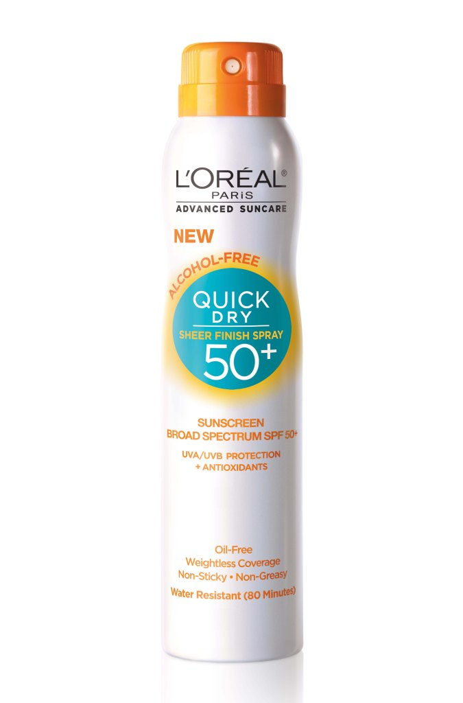 Quick Dry Sheer Finish Spray SPF 50+
