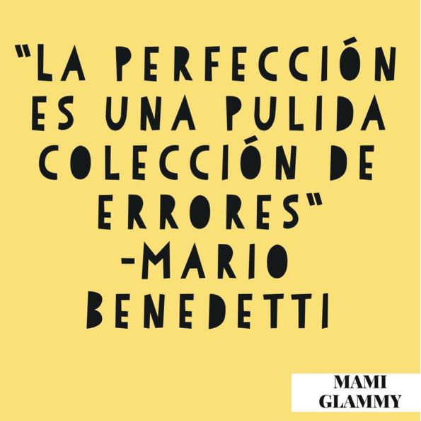 Perfección de la imperfección / Perfection of imperfection