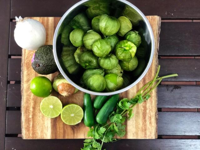Receta de salsa verde mexicana inspirada en Dr Seuss' The Grinch