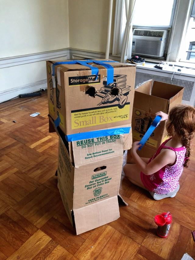 Robot de cajas de cartón