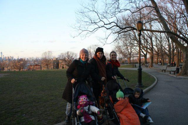Mamás en Sunset Park