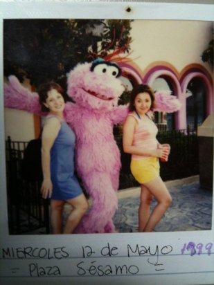 1999. Plaza Sésamo, Monterrey.
