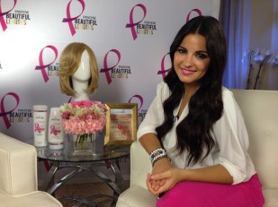 Maite Perroni y Pantene Beautiful Lengths