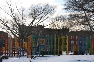 Playground en Sunset Park.