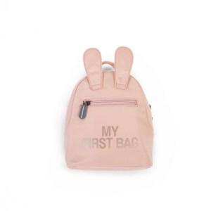 Nyuszis gyerekhátizsák rózsaszín