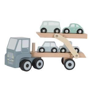Little Dutch fa játék kamion adventure kék