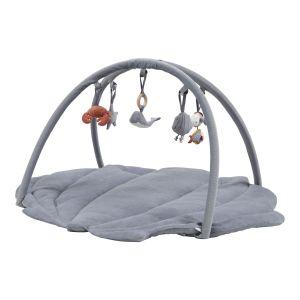 Little Dutch játszószőnyeg játékhíddal - tengeri állatos kék