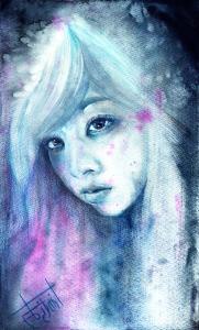 ・Watercolor, Colored pencil, Colored pens ・A4 ・2015 Dec 作品紹介