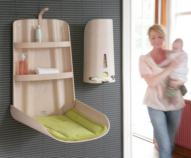 vir: http://www.newhouseofart.com/modern-baby-nursery-furniture-design-room-by-bybo/modern-baby-nursery-wall-table-unit/