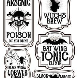 halloween-labels