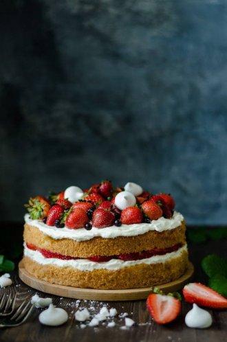 торт виктория