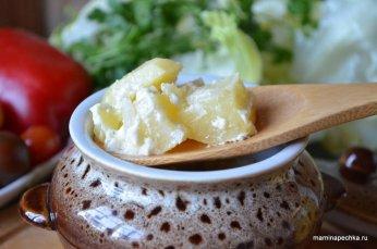 Картофель в глиняном горшочке