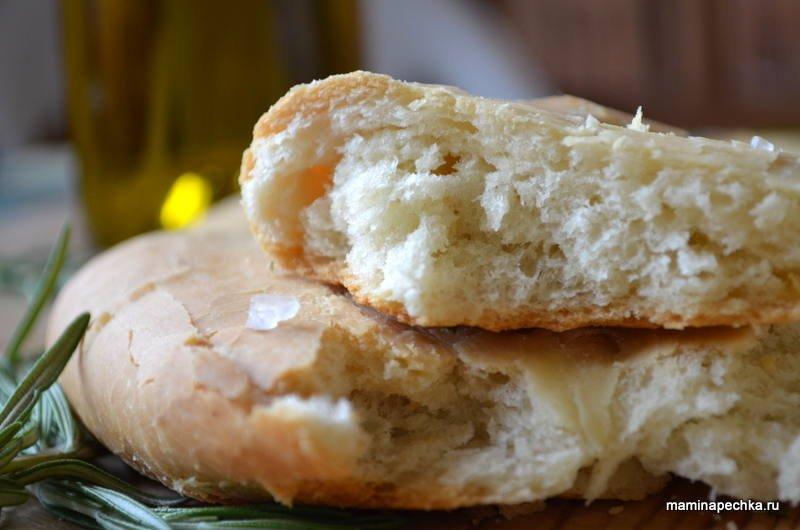 Фокачча с паприкой и оливковым маслом - рецепт пошаговый с фото
