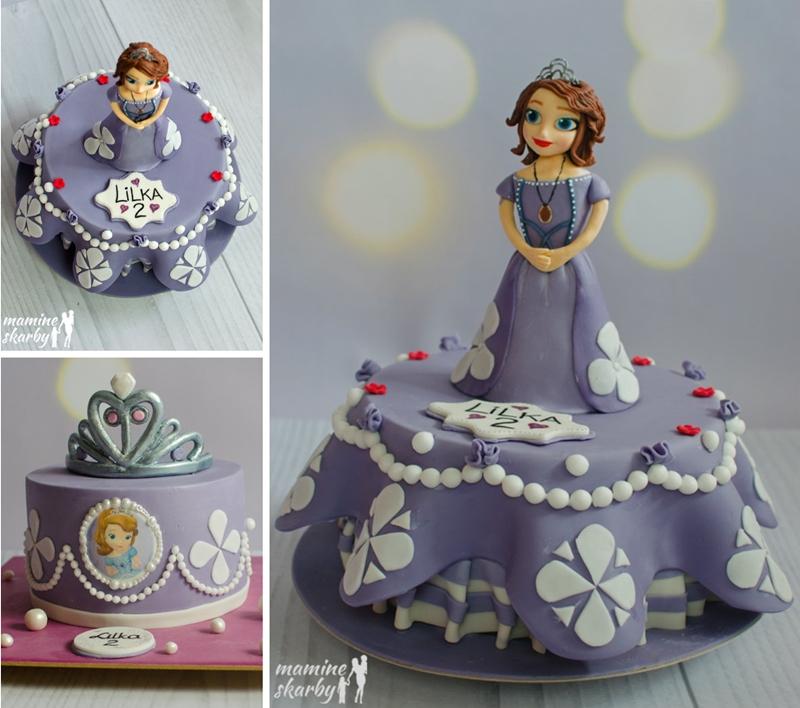 kolaż torty