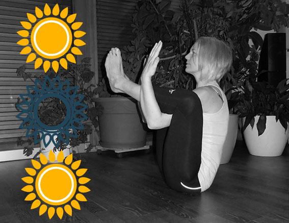 Mit Yoga Energie schöpfen