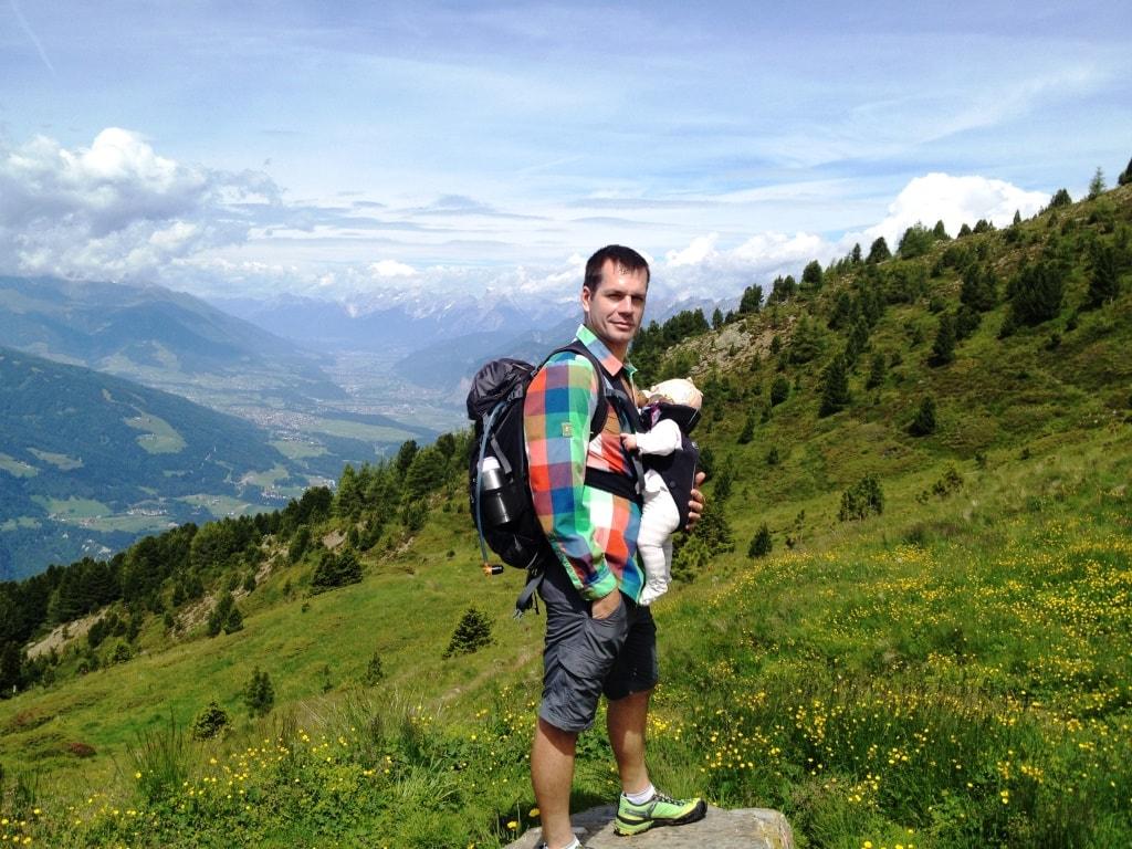 Hiking with Baby around Innsbruck: Zirbenweg