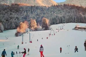 Ferien und Schnee