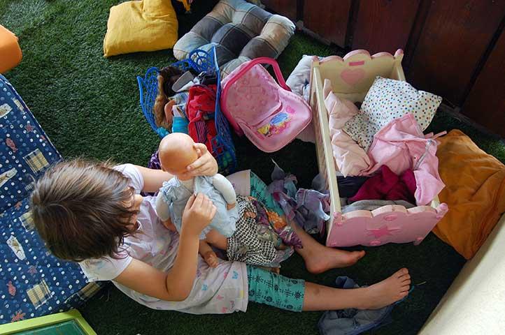 als Rückzugsmöglichkeit – Zeit statt Zeug - Unsere Kinder haben ein Recht auf Spiel und freie Zeit - hindert sie nicht daran