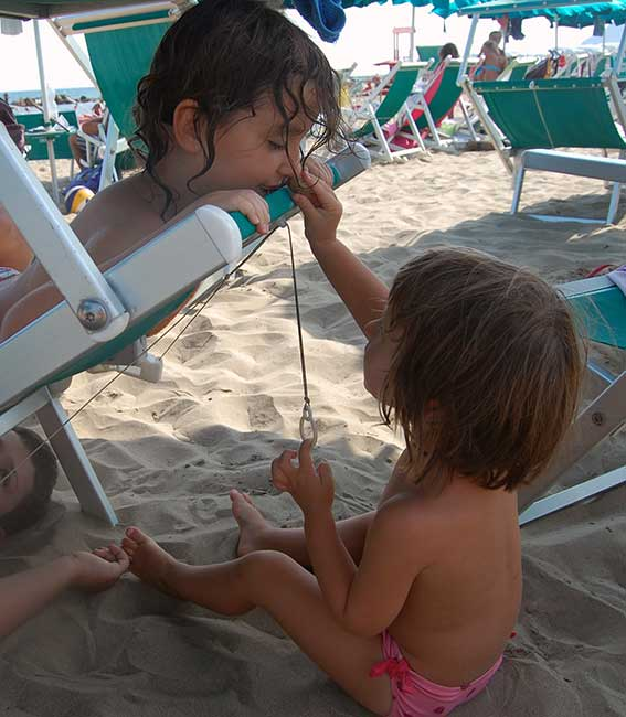 Urlaub in Rom: Sommer, Strand und Sturm