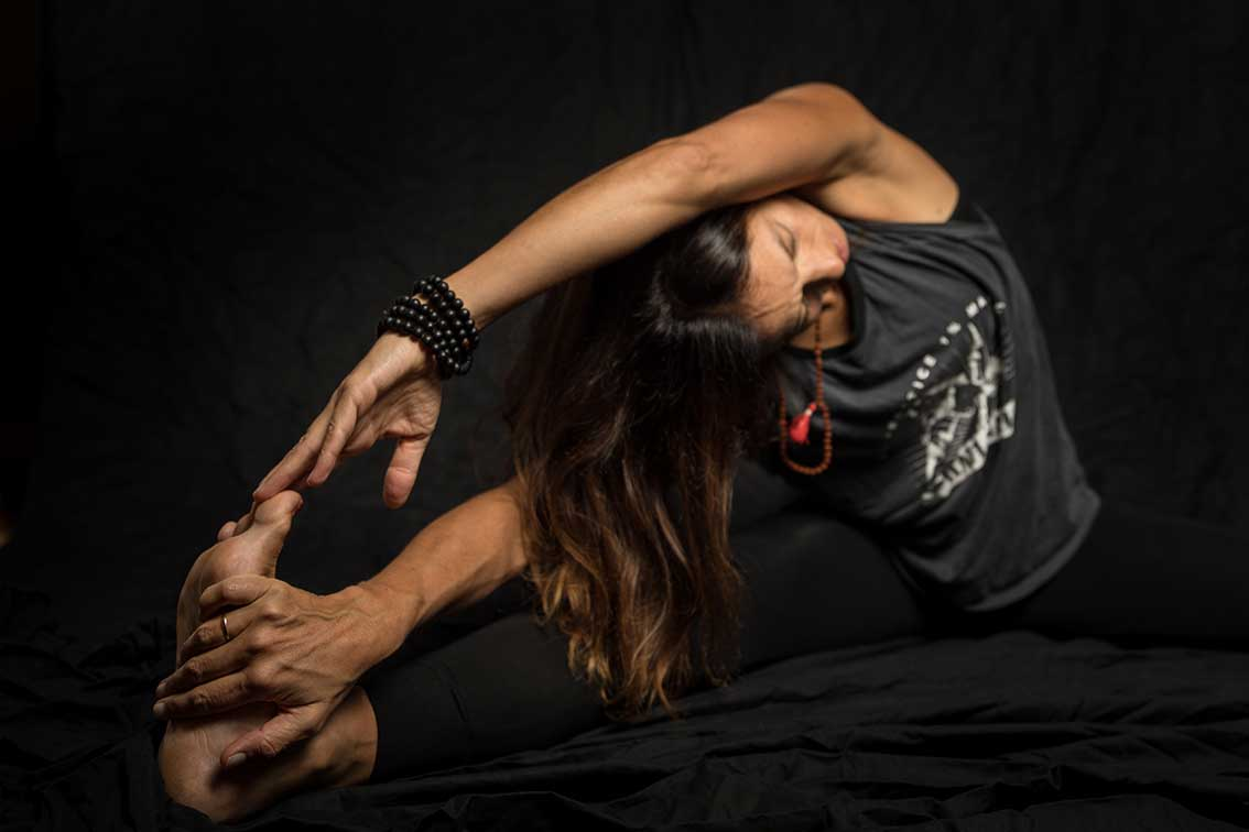 Yoga als nachhaltiger Lebensstil mit Buchverlosung Tür 8