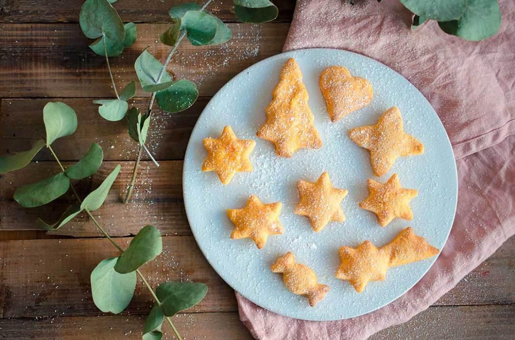 Zuckerfreie Kekse: Apfelmus-Süßkartoffel-Kekse für Kinder und alle, die Wert auf eine zuckerfreie und/oder vegane Ernährung legen.