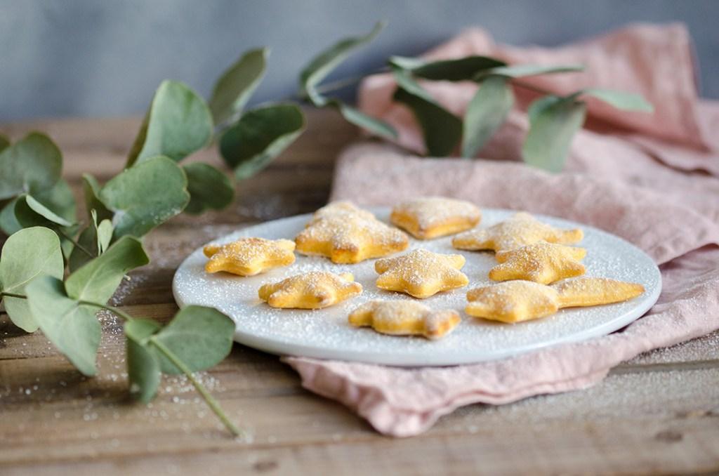 Apfelmus-Süßkartoffel-Kekse für Kinder und alle, die WErt auf eine zuckerfreie und/oder vegane Ernährung legen.