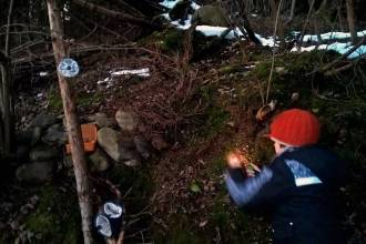 Weihnachten im Wald und am Skihang: Warten auf`s Christkind
