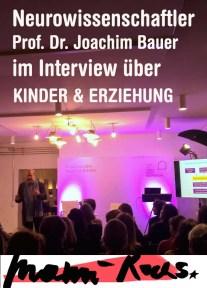 Der Neurowissenschaftler Prof. Dr. Joachim Bauer bei mamirocks im Interview über Kinder & Erziehung: Was die Hirnforschung zur Kindererziehung beitragen kann