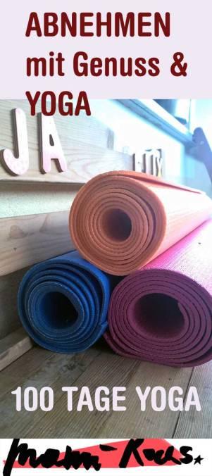 Abnehmen mit Yoga und Genuss: ohne Diät, dafür aber weitestgehend zuckerfrei!