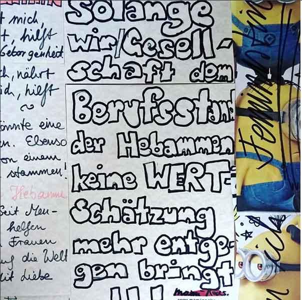 Mein Brief für Hebammen: Hilf mit beim Weltrekord, damit Hebammenwissen nicht ausstirbt!