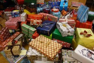 Weihnachts Spendenpakete