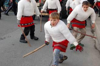 Fasching in Tirol: Vampeler Reiten in Axams
