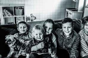 Sieben Kinder und glücklich: ein Papa im Interview