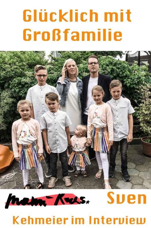 Sieben Kinder: Glücklicher Papa Sven Kehmeier im Interview mit Sieben Kinder: Glücklicher Papa Sven Kehmeier im Interview mit Mami rocksMami rocks