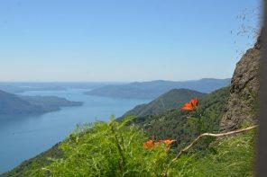 Lake Maggiore View from Cadorna Line Trail