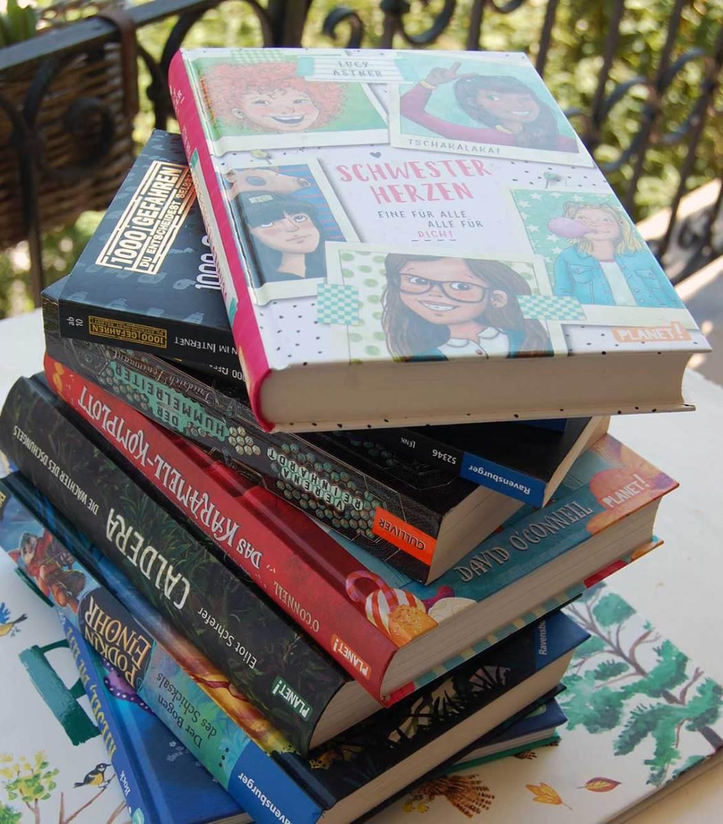 Spannende Kinderbücher für die Ferien