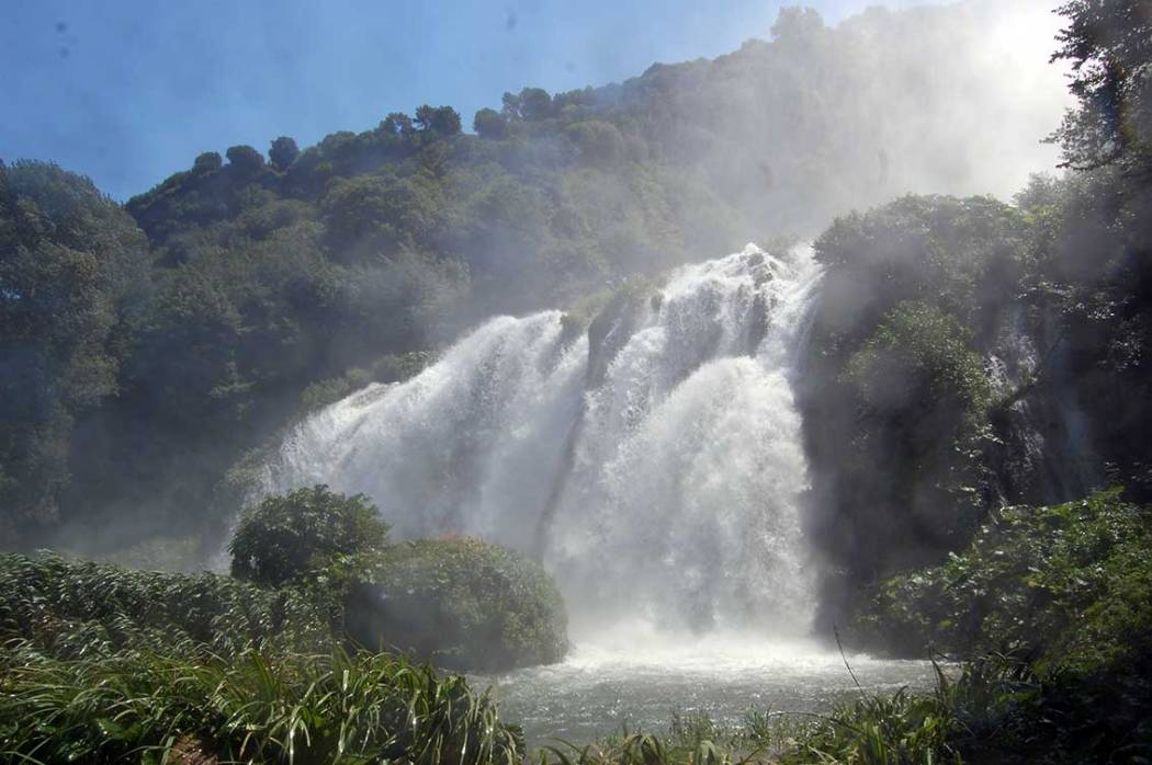 Roadtrip Mittelitalien - Le Marmore Wasserfall