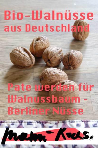 Baumpatenschaft: Bio Walnüsse aus Deutschland
