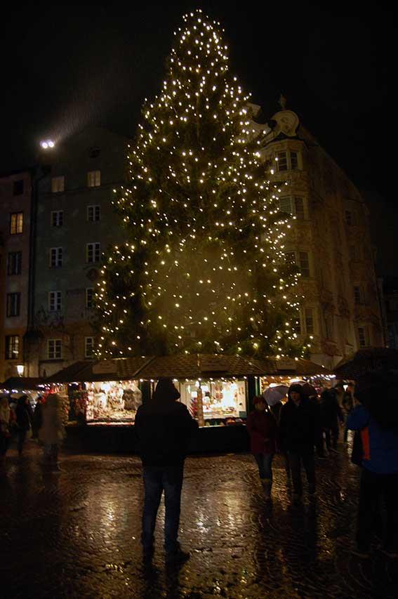 Christbaum Innsbruck