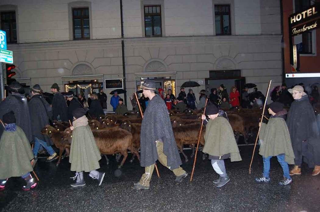 Christkindleinzug Innsbruck