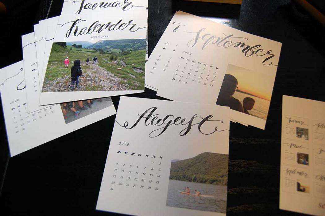Fotogeschenke und Fotokalender für deine Liebsten selbst gestalten