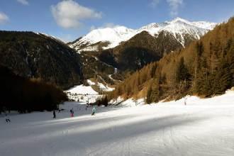 Skifahren in Südtirol