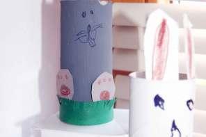 Nachhaltig basteln mit Kindern für Ostern