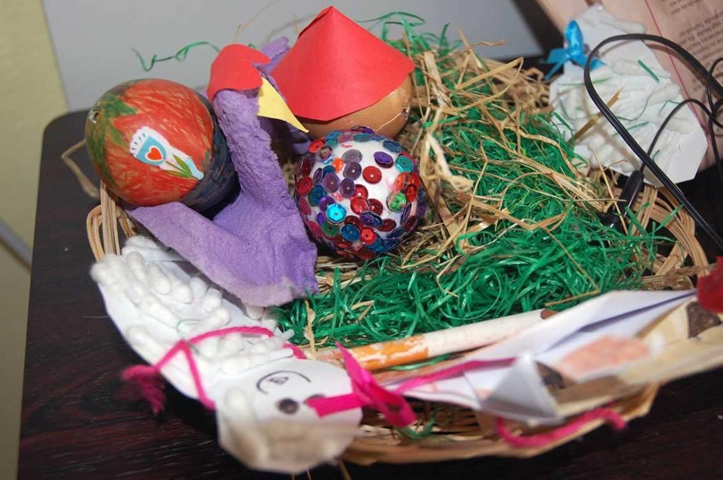 Basteln mit Kindern für Ostern
