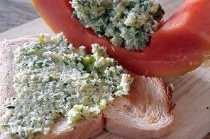 Rezept Zucchini-Kokos-Aufstrich mit Papaya – – & Frost-WIB