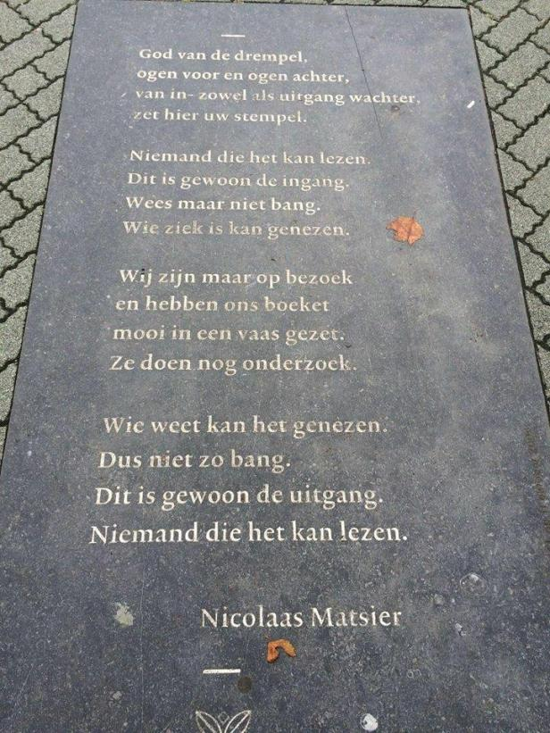 leeuwarden gedicht MCL 1