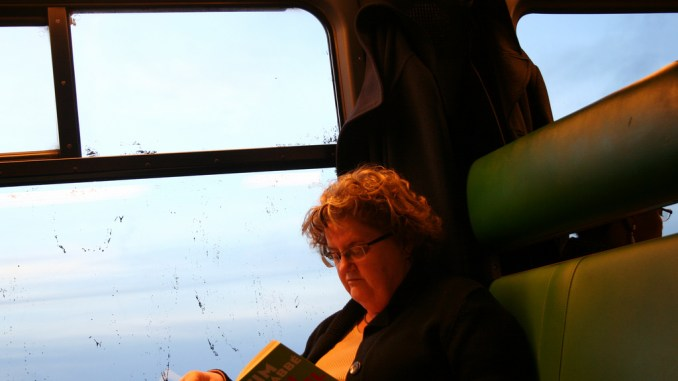 boek lezen trein
