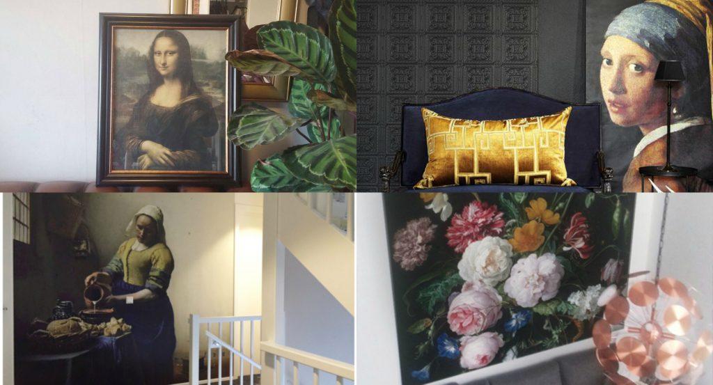 Kunst in je kamer. Haal oude meesters in huis.
