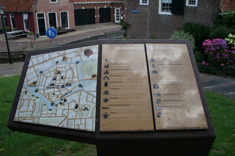 plattegrond Dokkum
