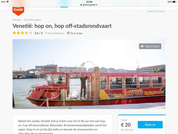 Boek in Nederland je hop on, hop off stadsrondvaart